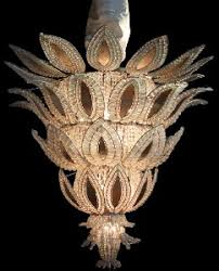 Art Nouveau Chandelier A Magnificent French Ananas Art Deco Chandelier Attributed To