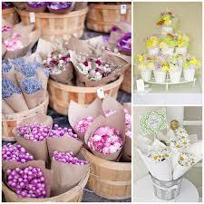 Flower Favors by Wedding Flowers Cone Flower Favor Wedding