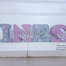lettre chambre bébé lettres prénom en bois prénom en bois lettre chambre bébé