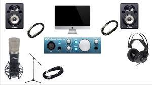home theater equipment what equipment do i need to setup a budget home studio april