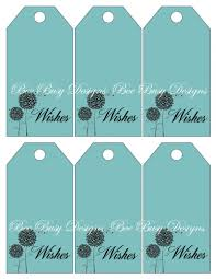 wedding wish tags printable greenish blue wedding wish tree tags bee busy designs