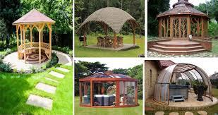 Backyards With Gazebos by Lovely Backyard Gazebos With Original Design Amazing