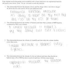 exponential regression worksheet worksheets for kids u0026 free