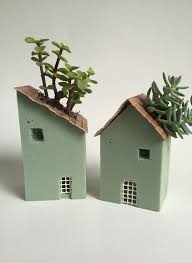 Planter S House Foam Block House Planters Think Crafts By Createforless