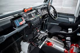 land rover defender interior land rover defender challenge by bowler pictures land rover