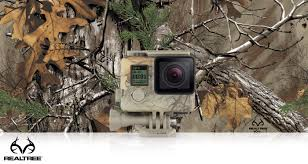 gopro camo housing quickclip realtree xtra