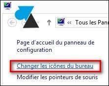 changer l image du bureau afficher l icône ordinateur poste de travail sur le bureau