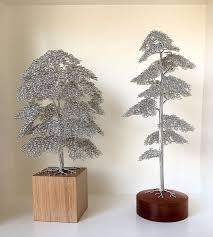 clive maddison wire tree sculptures artpeople net
