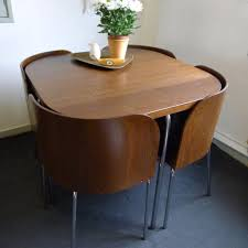 space saving table and chairs space saving dining set photo 5