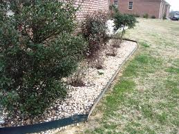 Metal Flower Bed Edging Lowes Landscape Edging Stone Tips On Metal Landscape Edging