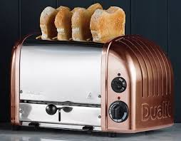 Dualit Stainless Steel Toaster Dualit 4 Slice Toaster Newgen Copper Toaster 47440