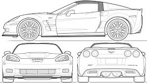 corvette c6 outline google search coloring pages embroidery