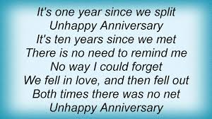 loudon wainwright iii unhappy anniversary lyrics youtube