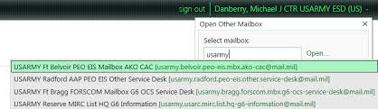 Dts Army Help Desk Militarycac U0027s Enterprise Email Specific Problems And Solutions Page