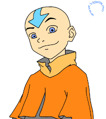 avatar airbender character drawings coloring pages