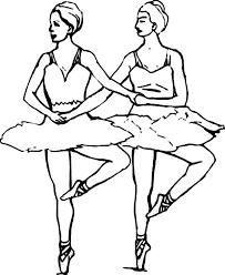 ballerina synchronize ballet coloring color luna