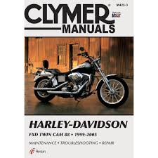 amazon com clymer repair manual for harley dyna fxd twin cam 88