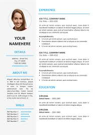 Canada Resume Template Cv Template Word Canada Professional Resumes Sample Online