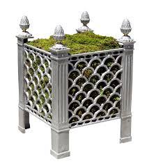 pierced planter contemporary traditional planters dering hall