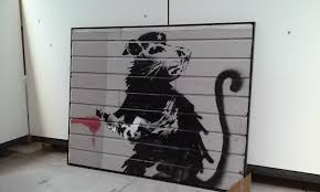 Banksy S Top 10 Most Creative And Controversial Nyc Works - arts notes banksy s 2010 street painting of a rat will be at