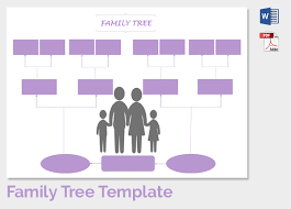 free printable family tree template with siblings family tree more