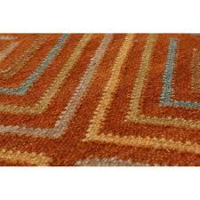 coffee tables orange round rug modern area rugs orange and brown