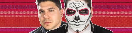 Sugar Skull Halloween Makeup Tutorial by Male Sugar Skull Makeup Tutorial Wholesale Halloween Costumes Blog