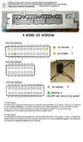 o2 sensor 4 wire wireing honda tech honda forum discussion