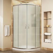 corner shower stall kits