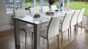 Gloss Dining Tables White High Gloss Kitchen Table Arminbachmann