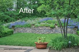 Slope Landscaping Ideas For Backyards Backyard Hill Landscaping Ideas Sprawlstainable