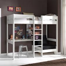 bureau pour lit mezzanine lit avec bureau pour fille inspirations et lit mezzanine avec