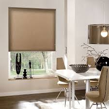 Roller Shade Deluxe Blackout Fabric Roller Shades Blindster Com