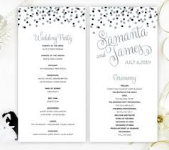 cheap wedding programs wedding programs lemonwedding