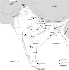 South India Map by The Early Historic Tradition C 1900 U2013200 Bce