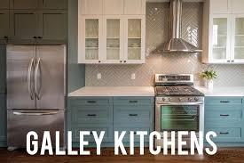 Galley Kitchen Width - galley kitchens rc willey blog