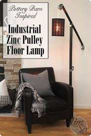 Pulley Floor Lamp One Of A Kind Pulley Floor Lamp