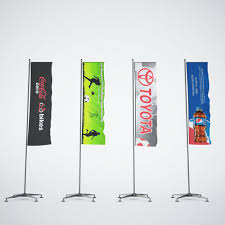 3d model banner flags cgtrader