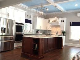 Coastal Inspired Kitchens - coastal inspired kitchen before and after
