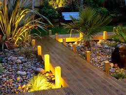 the lighting of a garden or infield ideas for design