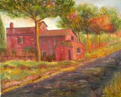 House And Barn by All By Name Joe Sardaro