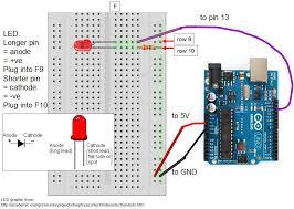 Led Blinking Circuit Diagram Lab 1 Led Lab