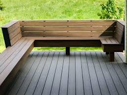 how to build deck bench seating built in deck seating great outdoor built in bench seat best ideas