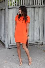 orange dress 9 summer ideas for work summer weddings bright and gold