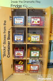 preschool kitchen furniture free kitchen labels play food container store and organizing