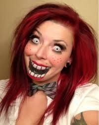 Scary Dolls Costumes Halloween 25 Ventriloquist Makeup Ideas Puppet