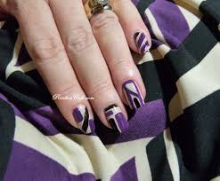 nail of the day nails inc abstract nail art pointless cafe