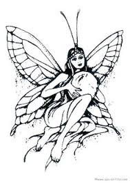 advanced fairy coloring pages free coloring pages print