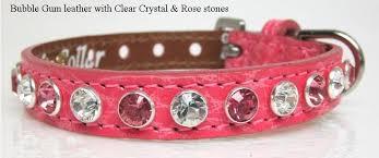 swarovski dog necklace images High fashion bling leather dog collars swarovski crystals jpg