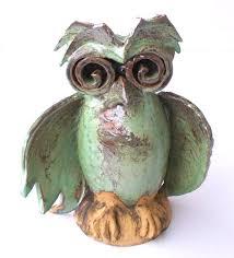 118 best ceramic figurines images on pinterest figurines owls